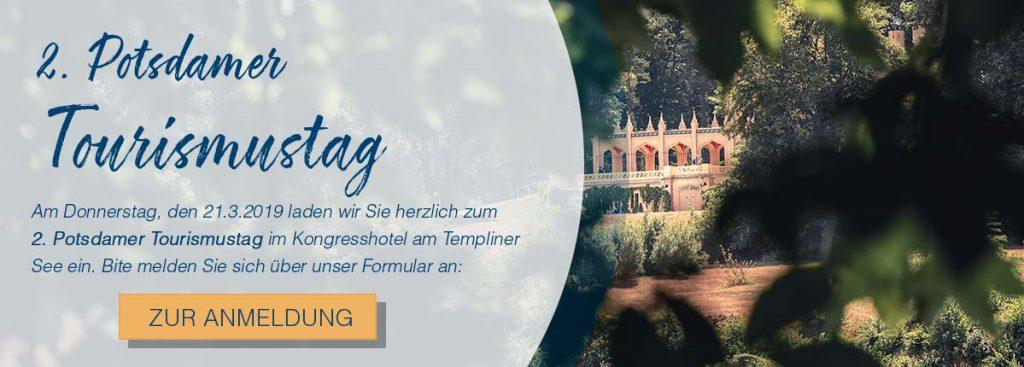 Anmeldung zum Potsdamer Tourismustag
