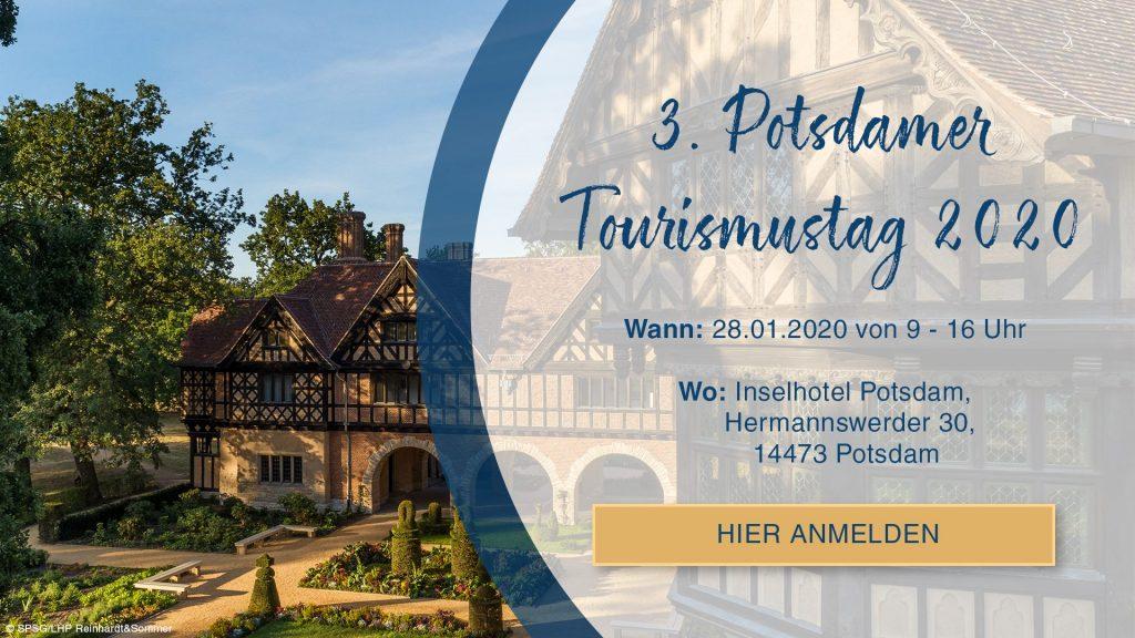 Einladung 3. Potsdamer Tourismustag 28.01.2020